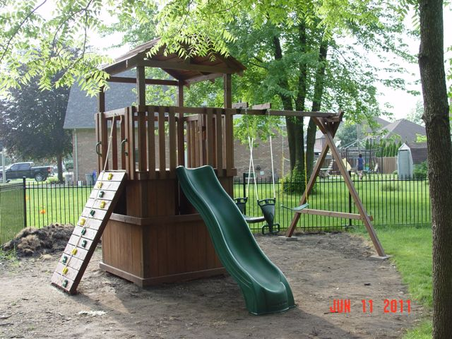 Delightful Play Structure, Play Structure